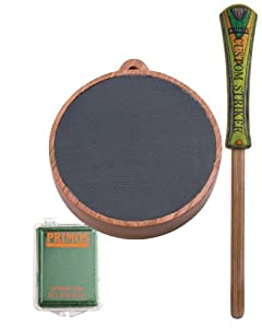 Primos Jackpot Turkey Pot Call with Conditioning Kit by Primos Hunting Calls