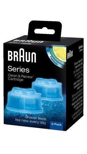 Braun Clean & Renew Cartridge Refills, Frustration Free 4 Count