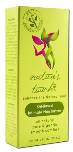 NATURE'S TOUCH Oil Based Bottle 2 oz Personal Lubricant
