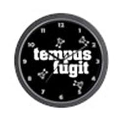CafePress - Tempus Fugit 4 - Wall Clock