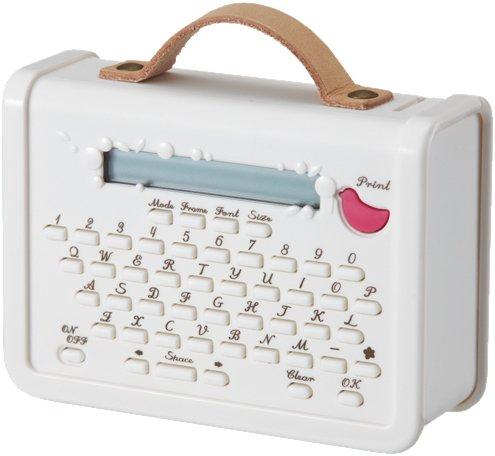 KINGJIM マスキングテーププリンター「こはる」 ホワイト MP10