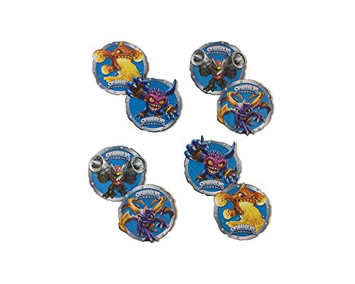 Skylanders Chracter Party Badge - Eruptor, Pop Fizz, Jet Vac, Mega Ram Spyro