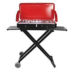 Travel N Grill Propane Stove Grill by Texsport