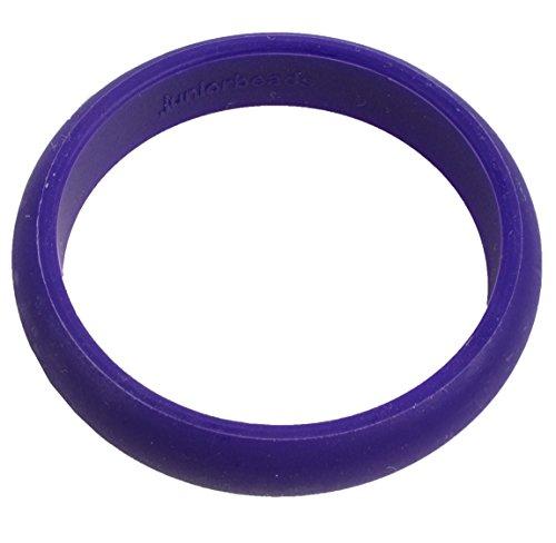 Chewbeads Jr. Skinny Charles Bangle Bracelet - Teething Jewelry - Purple