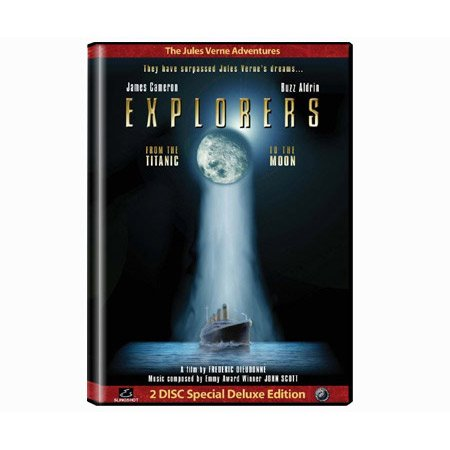 The Jules Verne Adventures: Explorers - From the Titanic to the Moon
