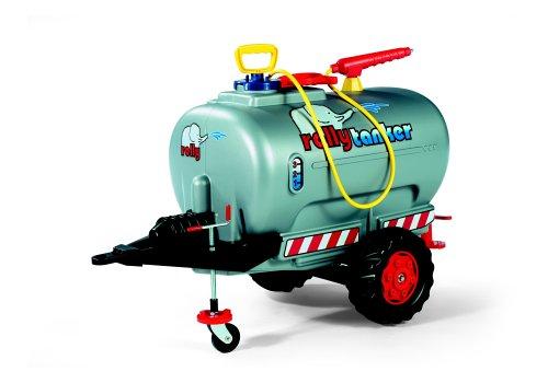 Jumbo Tanker Silver with Spray  &  Jockey Wheel