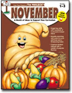 Image for November: A month of ideas at your fingertips Grades 1-3