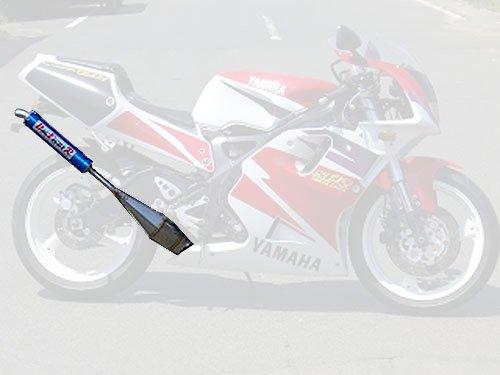ドッグファイトレーシング ステンレスチャンバー カーボンサイレンサー ヤマハ 95-98'TZR250SPR