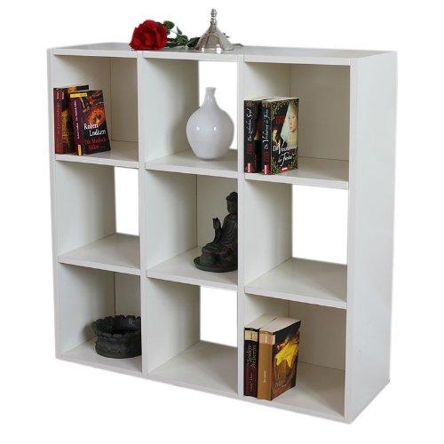 Modul-Regal Standregal M73, 93x93x30 cm ~ weiß günstig online kaufen