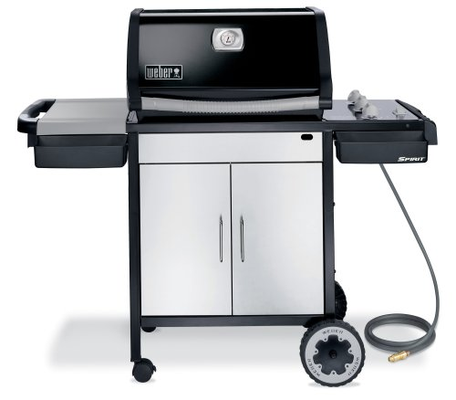 best buy weber 3821001 spirit e 310 natural gas grill black free shipping gas barbecue. Black Bedroom Furniture Sets. Home Design Ideas
