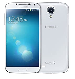 Samsung Galaxy S4 M919 T-Mobile GSM Unlocked 4G LTE Android Smartphone - White Frost