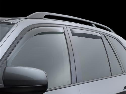 Dark Tint WeatherTech Side Window Deflectors for Lexus RX 2010-2015