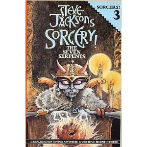 The Seven Serpents (Sorcery! Vol. 3), Steve Jackson