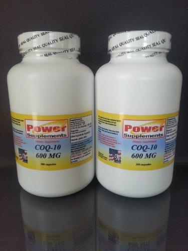 Coq-10 Q-10 Coq10 Co Q10 Coenzyme 600Mg - 600 Capsules.