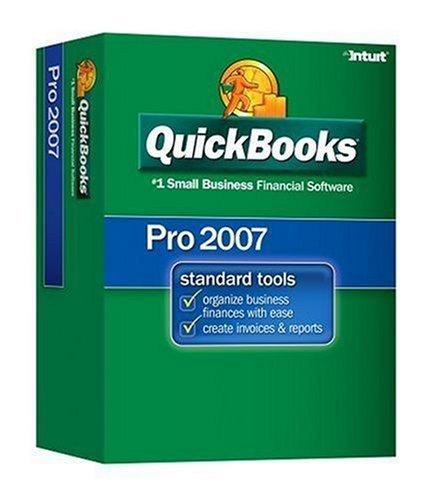 Intuit Quickbooks Pro 2007 Financial Management
