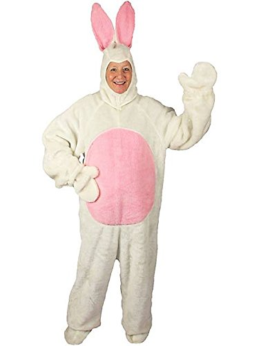 White Easter Bunny Suit XL