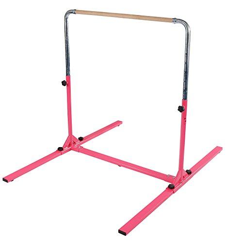 Tumbl Trak Junior PRO Gymnastics Bar, Pink (Tumbl Trak Bar compare prices)