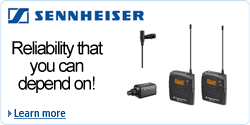Sennheiser EW100ENG G3 Wireless Lavalier Microphone Kit EW100ENGG3 A