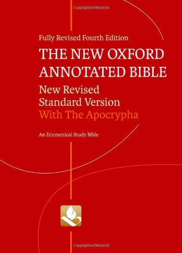 Amazon.com: The New Oxford Annotated Bible with Apocrypha: New Revised Standard Version (9780195289558): Michael D. Coogan, Marc Z. Brettler, Carol Newsom, Pheme Perkins: Books
