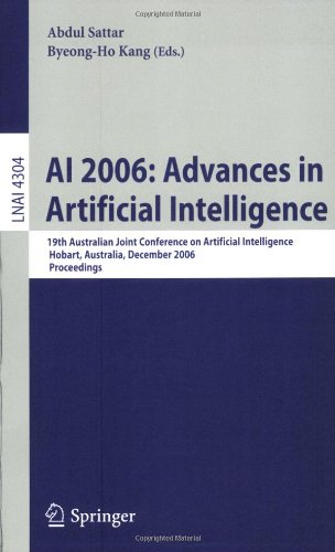 AI 2006: Advances in Artificial Intelligence: 19th Australian Joint Conference on Artificial Intelligence, Hobart, Austr