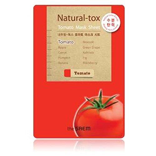 The Saem Natural - Tox Tomato Mask Moisturizing & Firming