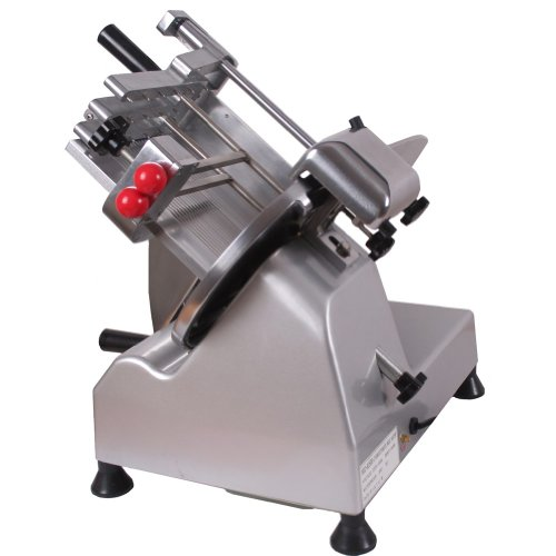 "Sanven Food And Meat Slicer 10"" Blade High Efficiency And Durable Fashion Tilted Design For Fast And Laborsaving Slicing front-538566"