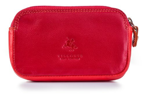 visconti-rb68-multi-color-ladies-soft-leather-coin-purse-key-wallet-red