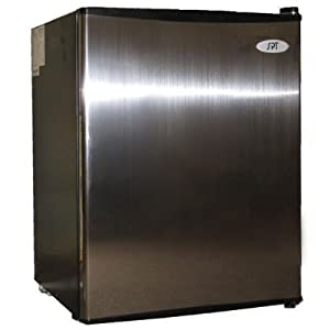 Sunpentown RF-250SS-2.5 cu.ft Compact Refrigerator in Stainless by Sunpentown