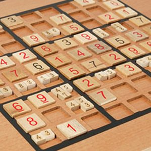 Cheap Fun Wood Expressions Wooden Sudoku (B000JLXEWQ)
