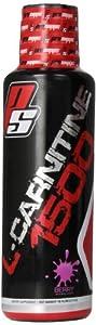 Pro Supps L-Carnitine 1500 Diet Supplement, Berry, 16 Fluid Ounce