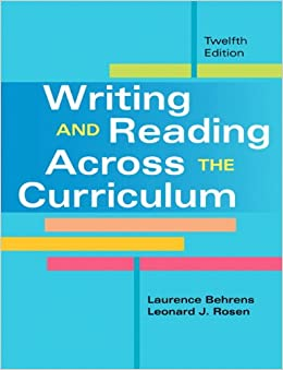 Writing research papers across the curriculum pdf