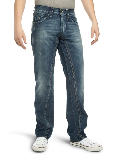 Energie Men's Douglas Jeans Blue Denim 30W x 34L