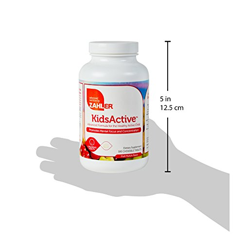 Consumer Awareness Aids Cpo Sales And Prices: Zahler KidsActive, Kids Chewable CONCENTRATION Formula