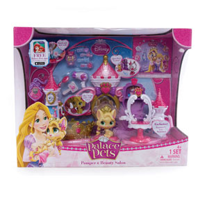 Amazon.com: Disney Princess Palace Pets Pamper Spa Playset: Toys ...