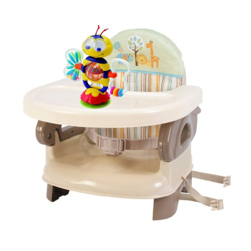 Summer Infant Deluxe Booster Seat With Toy - Neutral front-910248