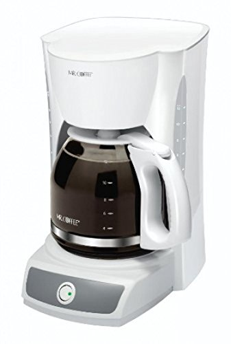 Mr. Coffee 12-Cup Switch Coffeemaker, White, Cg12, Brewer, New, Free Shipping