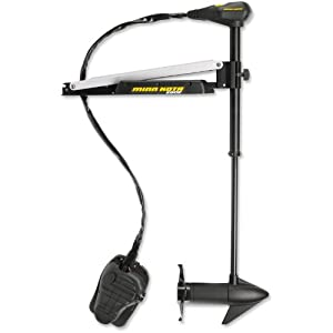 "MinnKota Edge 70 Bowmount Foot Control Trolling Motor with Latch and Door Bracket (70lbs thrust, 52"" Shaft)"