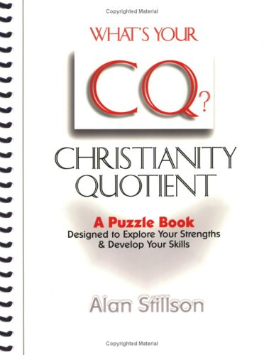 What's Your CQ?, Alan Stillson