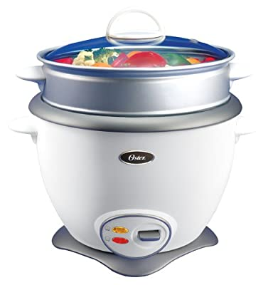 Oster 4731 Rice Cooker and Food Steamer, White from Oster