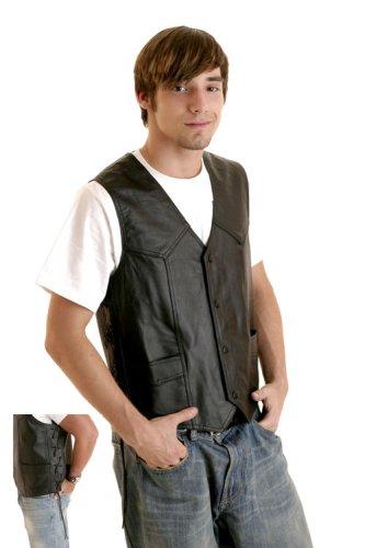 Rebel Ryder Genuine Solid Leather Black Vest - Buy Rebel Ryder Genuine Solid Leather Black Vest - Purchase Rebel Ryder Genuine Solid Leather Black Vest (Rebel Ryder, Rebel Ryder Vests, Rebel Ryder Mens Vests, Apparel, Departments, Men, Outerwear, Mens Outerwear, Vests, Leather, Leather Vests, Mens Vests, Mens Leather Vests)