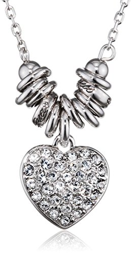 Guess Damen-Collier Metalllegierung rhodiniert Zirkonia weiß 45 cm - UBN11314 thumbnail