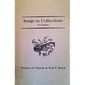 Songs in Collections: An Index