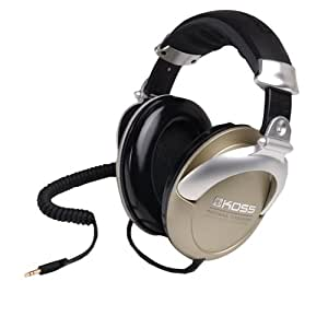 Koss PRO4AAT High Quality Titanium Stereo Headphones for iPod, iPhone, MP3 and Smartphone - Gold/Silver
