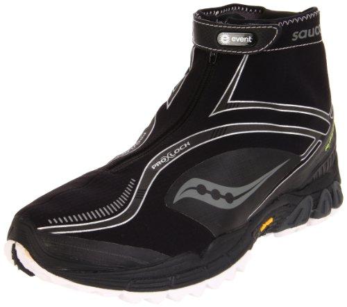 Saucony Men's Progrid Razor 2.0 Trail Running Shoe,Black/White,7 M US