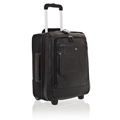 Trolley Piquadro Vibe nero business portacomputer da cabina con lucchetto e tasca brevettata porta iPad® e PC CA2496VI/N
