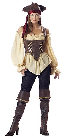 Rustic Pirate - Sexy Adult Pirate Costume Lingerie Outfits