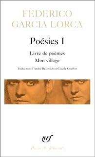 Poésies par Federico Garcia Lorca