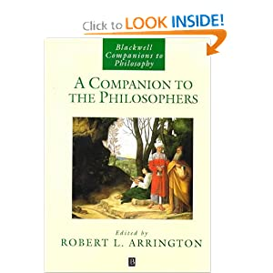 A Companion to the Philosophers Robert L. Arrington