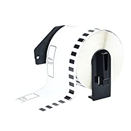 GREENCYCLE 1 PK Compatible For Brother DK-2205 continuous paper label roll 2.4 (2-3/7) Inches by 100 feet use with Brother P-Touch QL-Series