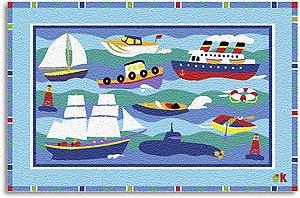 Boats & Buoys Rug OLIVE KIDS 39 x 58 Area Rug